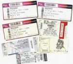 MDNA TOUR - SET OF 7 USA, UK & SPAIN TICKETS